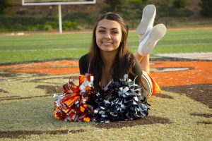 Isabelle Velasquez: Foothill's Cheerleading Captain